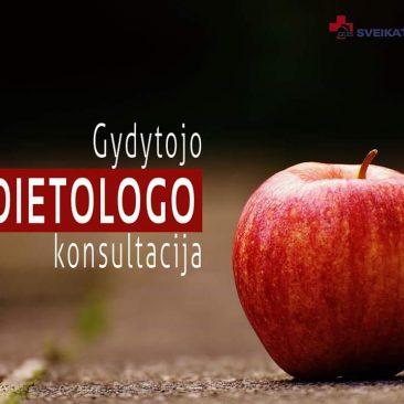 Dietologo konsultacija