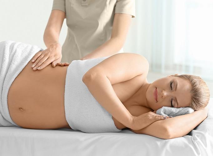 Nėščiųjų masažas prieš ir po gimdymo