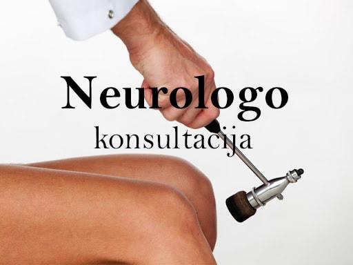 NEUROLOGO konsultacija